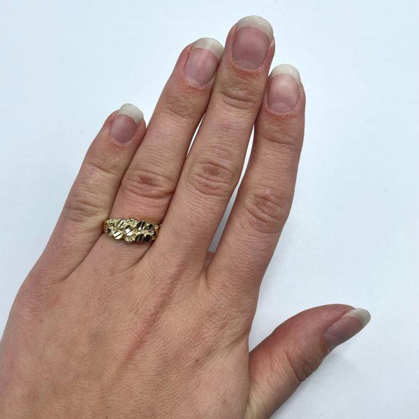 Bella Nugget ring 2